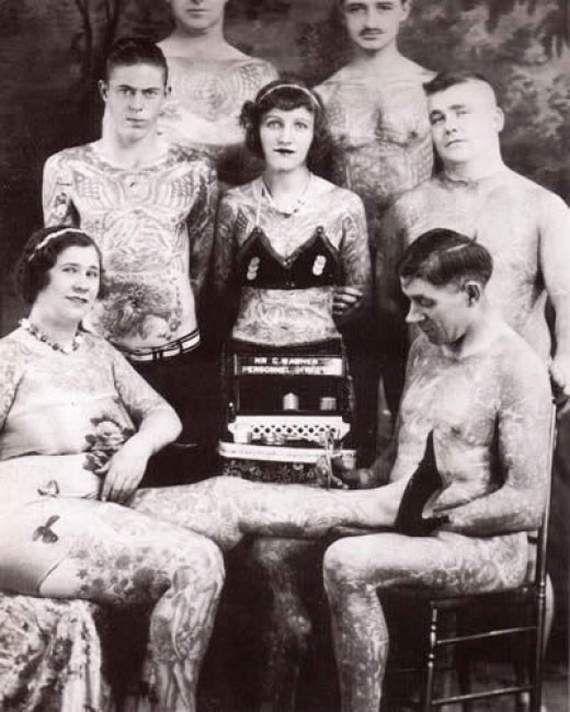 Pioneers of Modern Tattoos