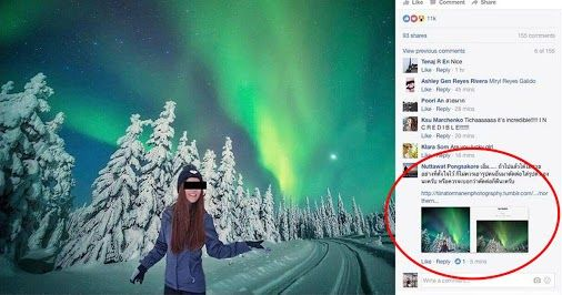 Thai Air Hostess Instagram Star Busted for 'Shopping Herself Into Stolen Pics