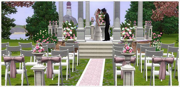 Romanza Ceremony + Attire - Store - The Sims™ 3