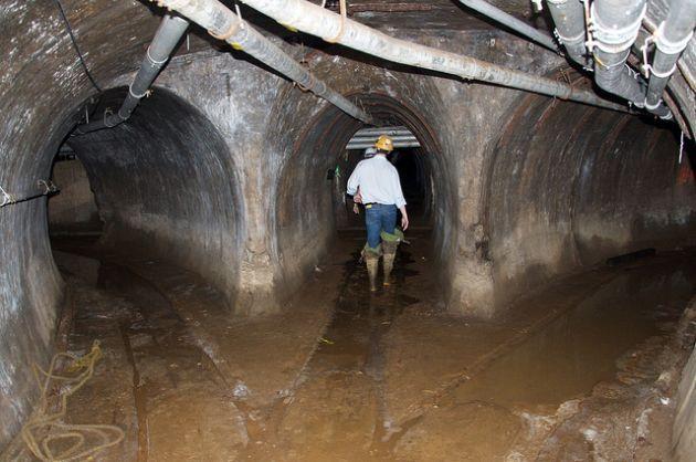 Chicago's Underground Freight Railway Tunnels After the Flood