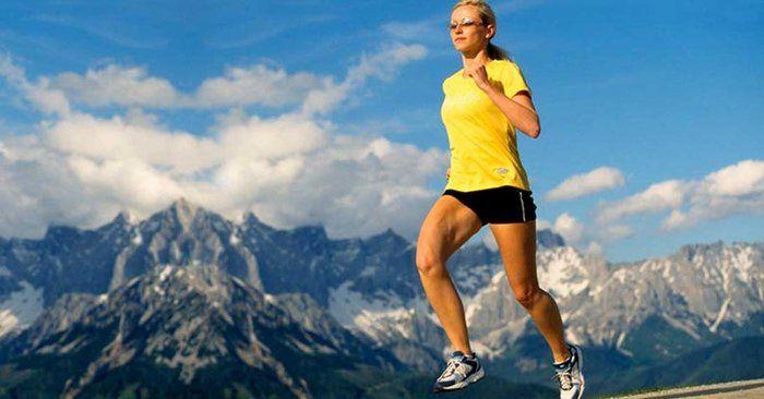 Beste Bedingungen in Südtirol auch für profesionelle Sportler.