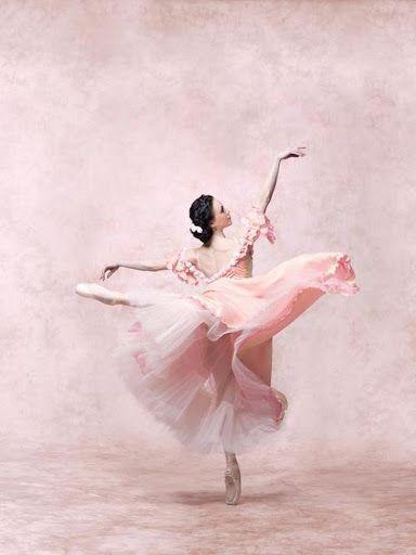 Pink Ballet Dancer.