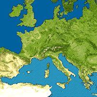 Euroopan meret
