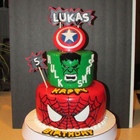 48 best Jackson superhero cake images on Pinterest Desserts
