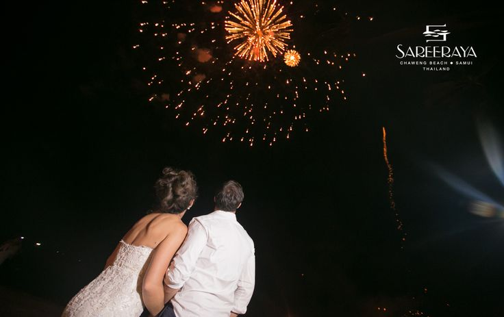 Fireworks show ends the Night perfectly!