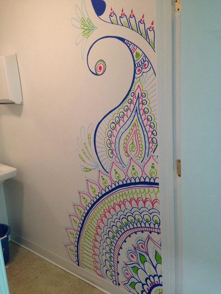 henna design on wall google search - Designs For Walls