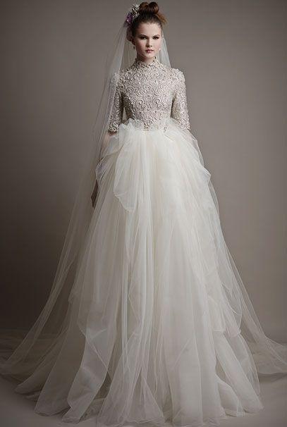 Ersa Atelier 2015 свадебные платья Wilhelmina