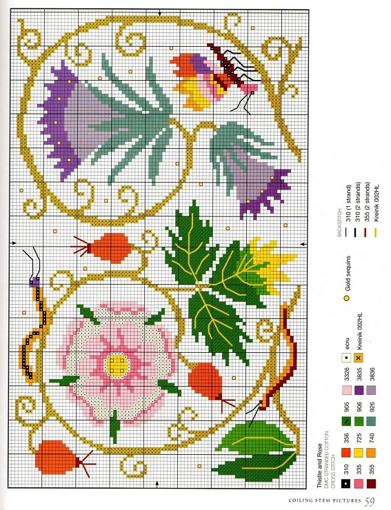 Elizabethan Cross Stitch - Orlanda
