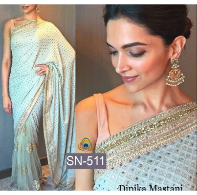 Buy stylish bollywood saree sn 511 by undefined, on Paytm, Price: Rs.3650?utm_medium=pintrest