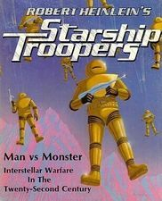 A Marauder is a type of powered armor, supersoldier or machine, depends on which universe it is in. The Marauder Suit is the basic Power Armor used by the Mobile Infantry. Each armored suit is customized to fit each individual. The armor is designed to give a trooper many times more strength, to let them jump over buildings at ease, and to deflect enemy fire.