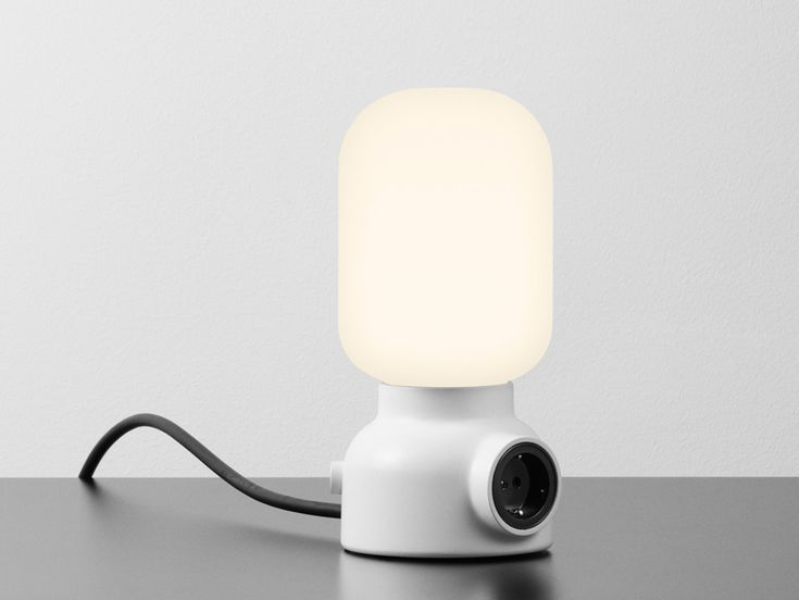 Plug lamp produced by Ateljé Lyktan - Form us with Love