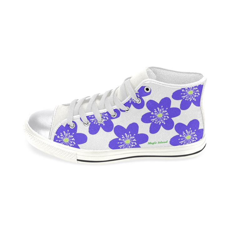 Blue Anemone Hepatica. Inspired by the Magic Island of Gotland. Women