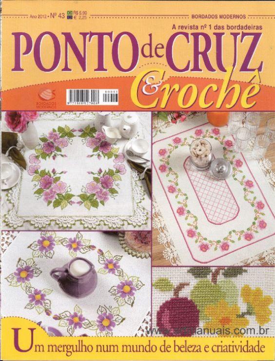 Gallery.ru / Фото #1 - Ponto cruz & crochê Nº43 - Chispitas