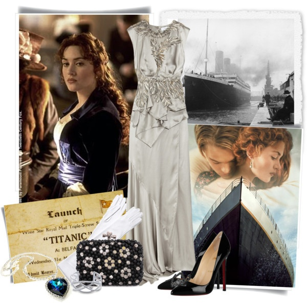 A Titanic Night, created by tchance on Polyvore