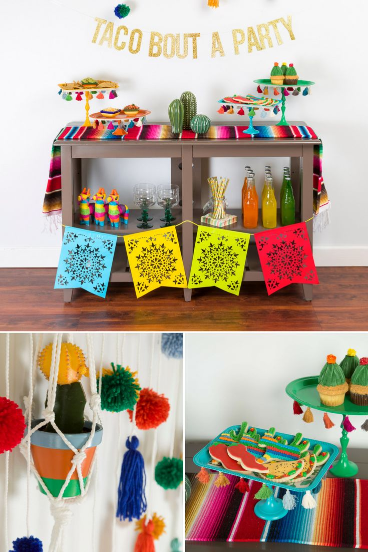 Looking for fun, festive Cinco de Mayo party ideas? Rust-Oleum has you covered with an easy DIY taco bar on a budget! Get the how-to and all the inspiration you need to spray paint your way to becomin