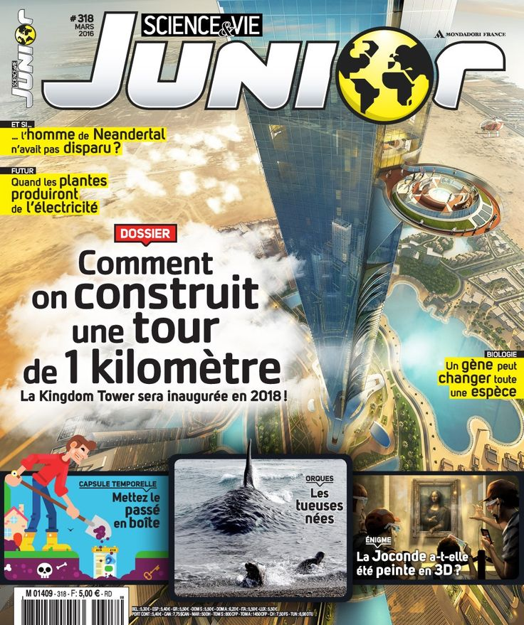 Science & Vie Junior. N°318, mars 2016.