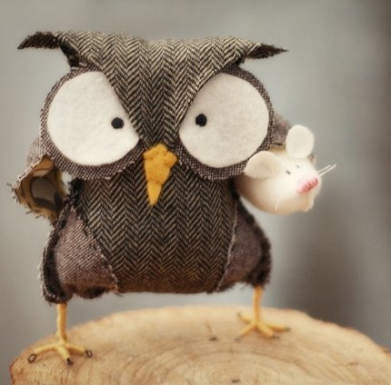 love him: Owl Pillows, Owl Crafts, Diet Plans, Braids Style, Angryowl, Angry Owl, Birds, Weights Loss, Art Pieces