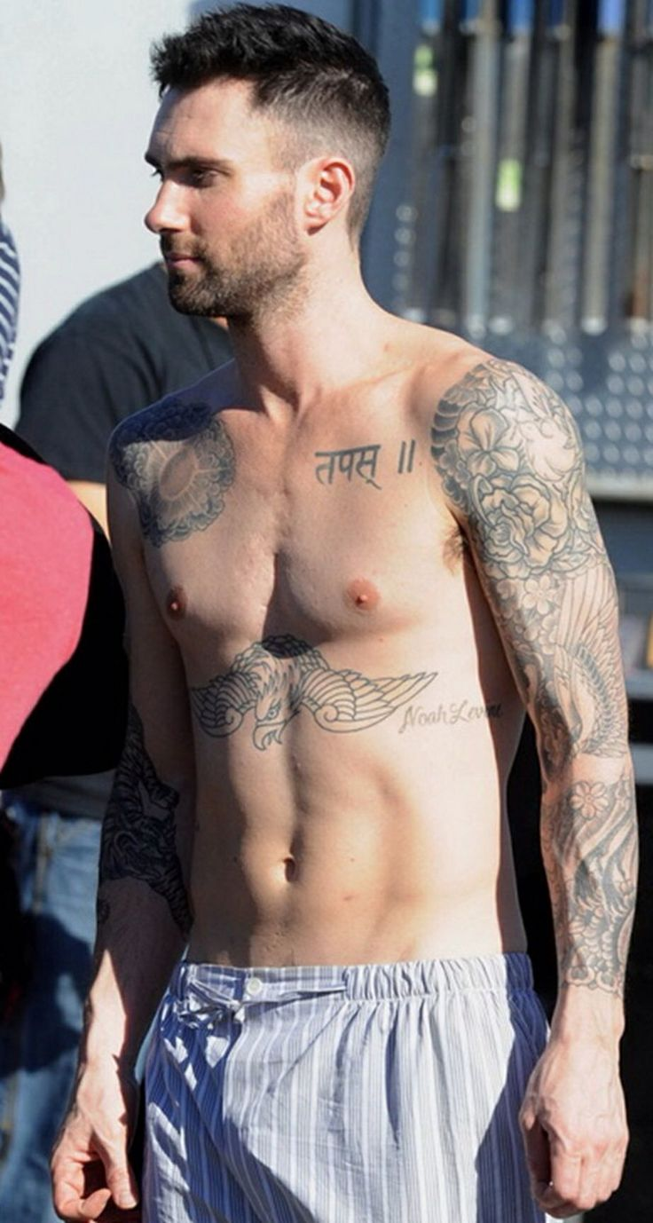 Randy orton tattoos celebritiestattooed com - Adam Levine Tattoos Are Considerably Popular Levine Wears Quite A Few Tattoos That Represent His Span With Maroon Out Of All His Most Commendable Tattoo Is