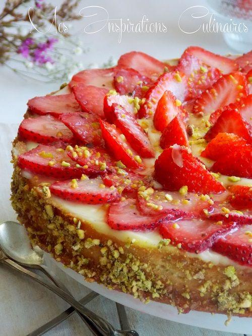 tarte aux fraises de Michalak