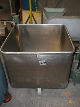 Macki Stainless Steel Bins - http://www.machines4u.com.au/browse/Material-Handling/Bins-Containers-300/Metal-Bins-1399/