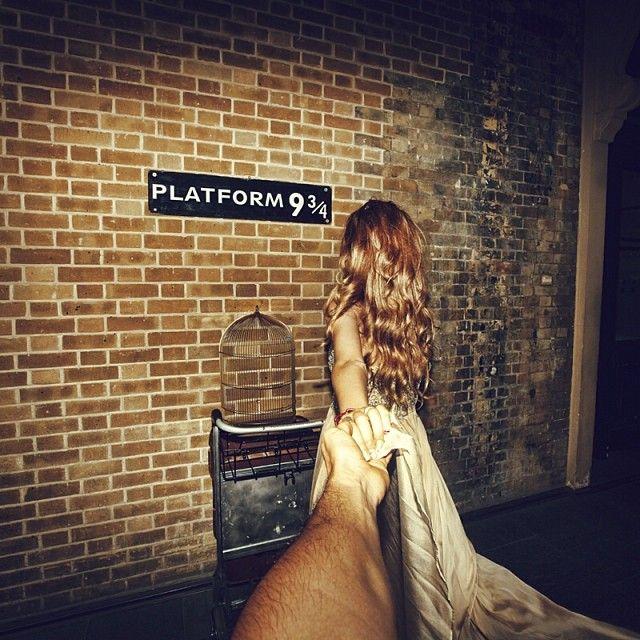 Follow me to Hogwarts