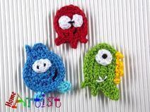 Crochet Applique Embellishments