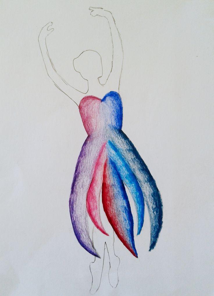 NÁVRHY NA ŠATY, 6. ročník, 5/2017