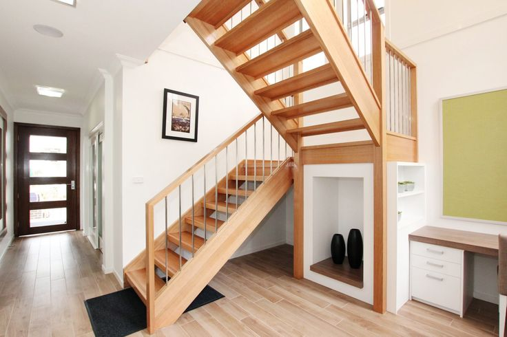 [Modern staircase - Made by Genneral Staircase.]    Tags: modern staircase | modern stairs | open staircase | open riser stairs | contemporary staircase | contemporary stairs