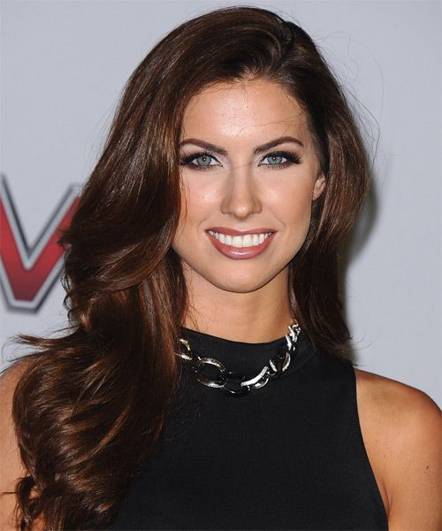 Katherine Webb Hairstyle - Formal Long Straight