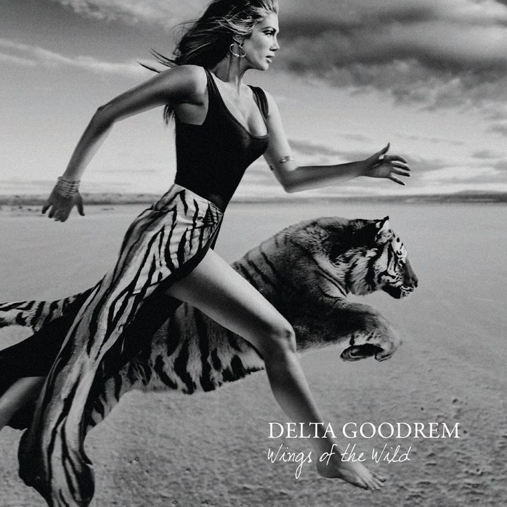 Album covert art for Wings of the Wild - Delta Goodrem