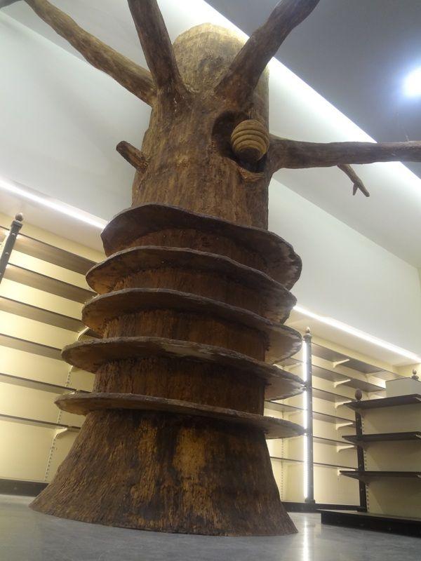 Ειδική κατασκευή για το κατάστημα βιολογικών προϊόντων. www.artco.gr