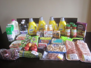 Couponing in Canada: Weekly Grocery Trip ~ April 7, 2013  Total Regular Price $177.75, Total Paid $89.73 a 50% savings