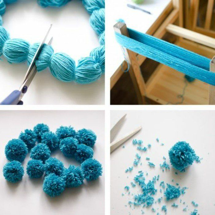 comment faire un gland en laine