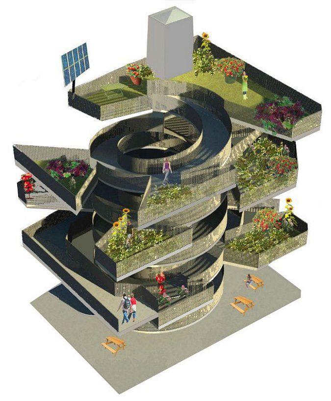 urban vertical farm - http://www.luciesadakova.com/portfolio/1-project/