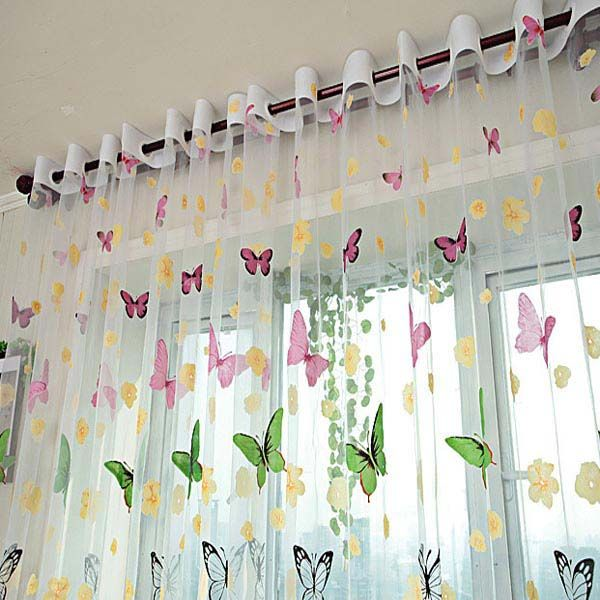 15 must-see Door Window Curtains Pins | Door window covering, Diy ...