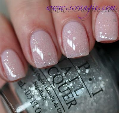 OPI Pirouette My Whistle (one coat) over You Callin' Me A Lyre? I love this - I'm not sure if it is lady-like, or princess-like, but either way, it's good!