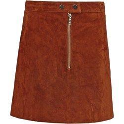 Miss Selfridge Spódnica mini brown