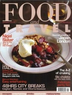 Food and Travel Magazine, January 2010 (searchable index of recipes)