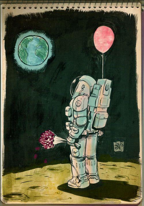 astronautas tumblr love - Buscar con Google