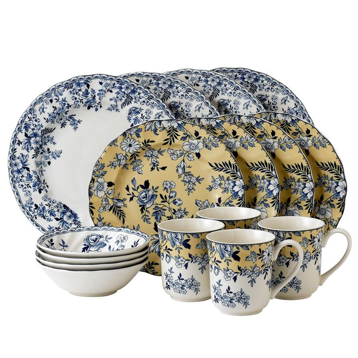Johnson Brothers Devon Cottage 16 Piece Set | Yellow Accent by Johnson Brothers on THEHOME.  sc 1 st  Pinterest & 12 best Johnson Brothers Devon Cottage Dishes images on Pinterest ...