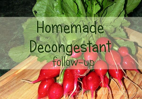 Have you tried my homemade decongestant?  Read this post for FAQ's, storage tips, and more.  #t2hmkr