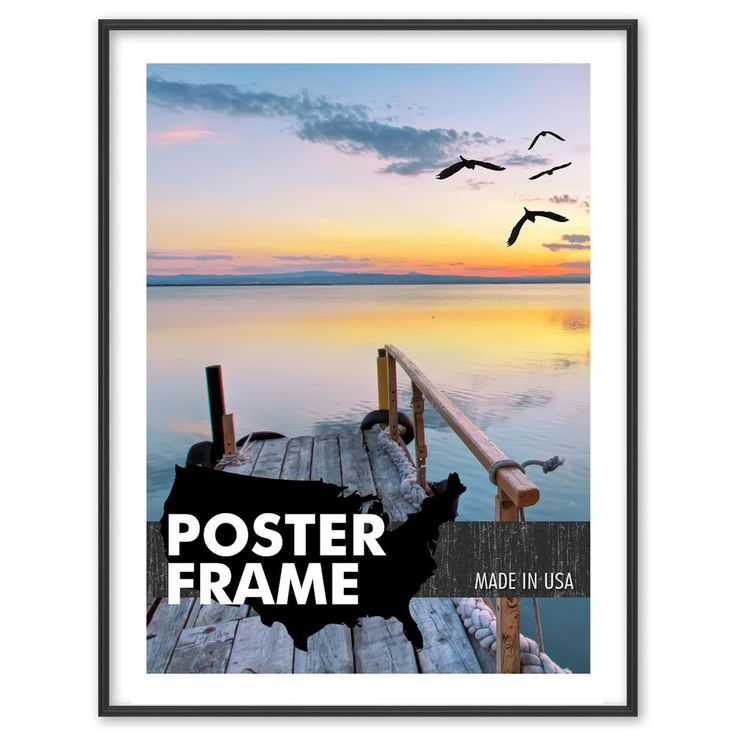 40 x 60 standard poster picture frame kit 40x60 profile color lens backing frame 26x38dcor