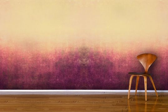Red Painted Mist Wallpaper Mural