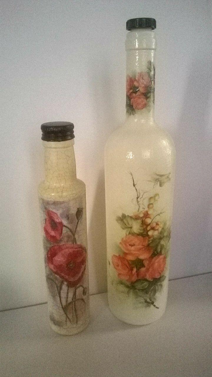 Handmade Decorated Bottles 5