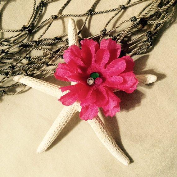 Estrellas de mar la princesa Moana con pinza de pelo de la