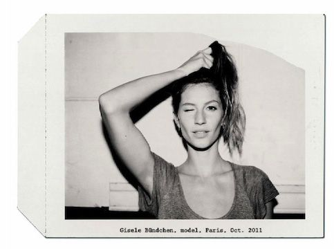 GInspiration, Style, Black And White, Beautiful, Anna Bauer, Bauer Giselebündchen, Cotton Candies, Gisele Bundchen, Gisele Bundchen