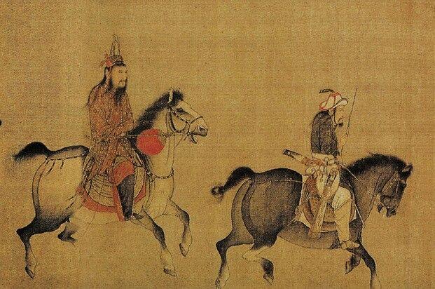 Fantastic mongol (?) Horses.