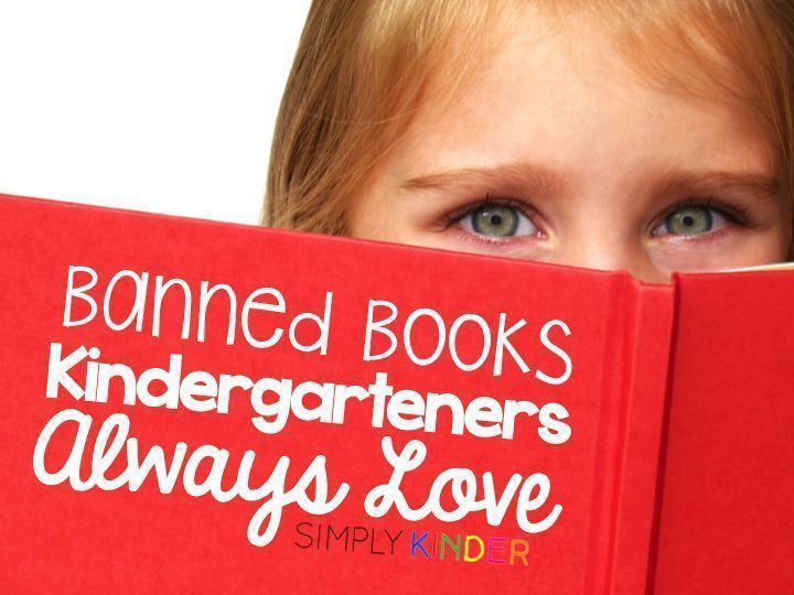 Banned Books Kindergarteners Will Love! - Simply Kinder