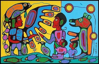 NORVAL MORRISSEAU BLOG: The exhibition that ended institutionalized discrimination against First Nations art at the National Gallery of Canada