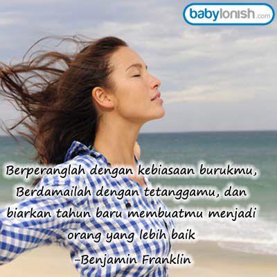 Selamat pagi... Nasihat terbaik untuk Anda di akhir tahun ini...  Semangat & Have a nice day  www.babylonish.com